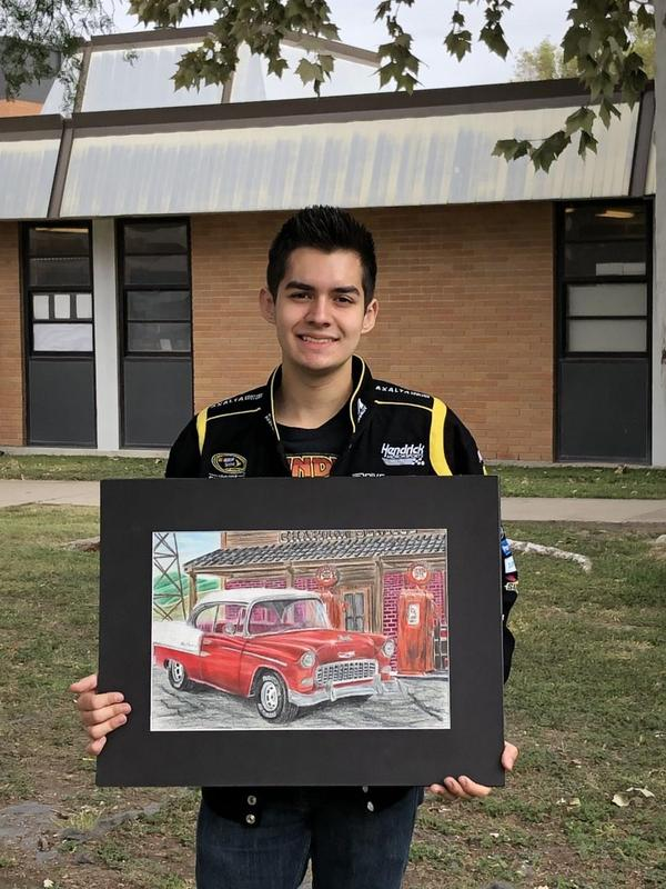 Senior Timothy Chapman artwork to be published Featured Photo
