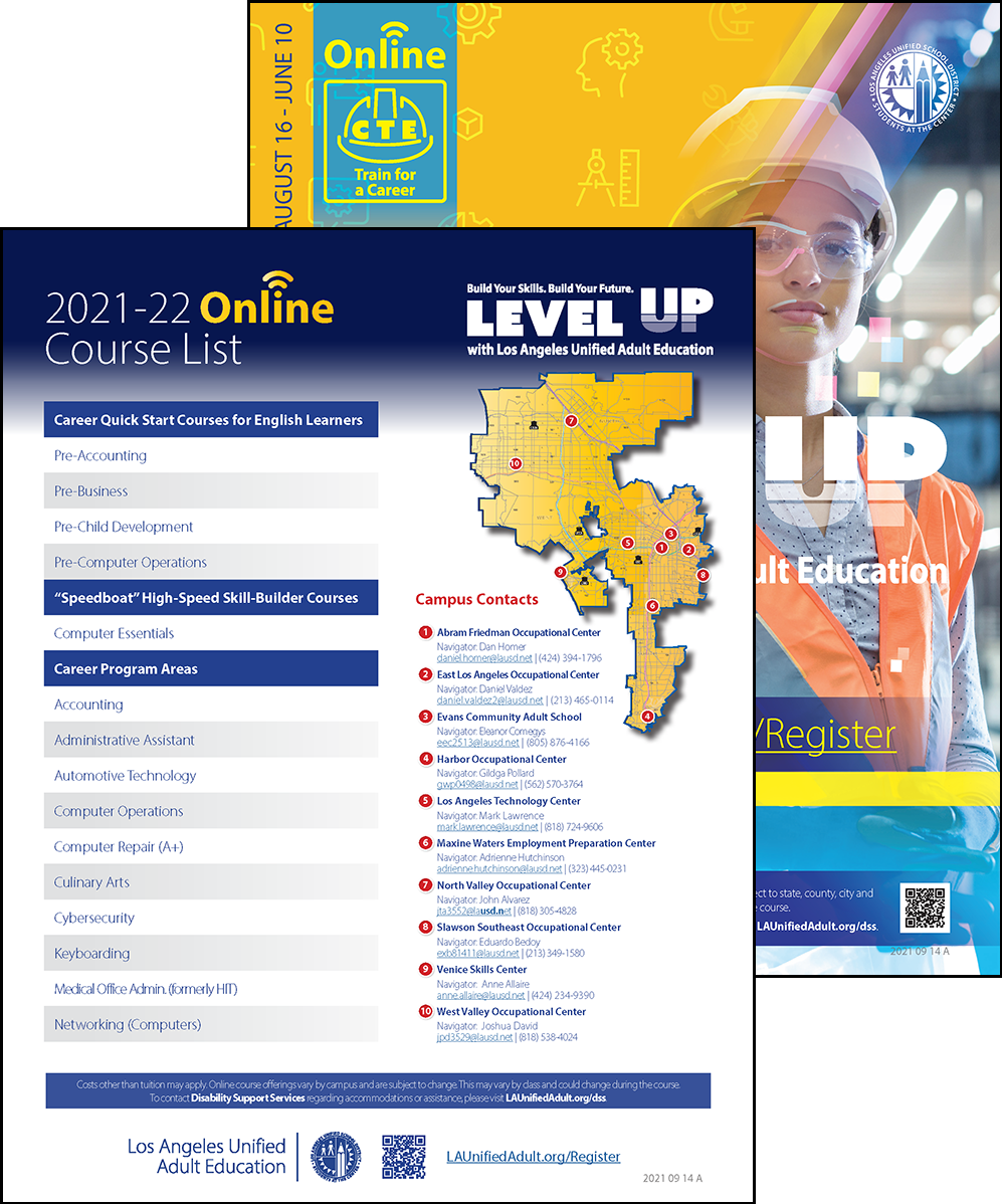 Career Technical Education Flyer - Online - Cover 01