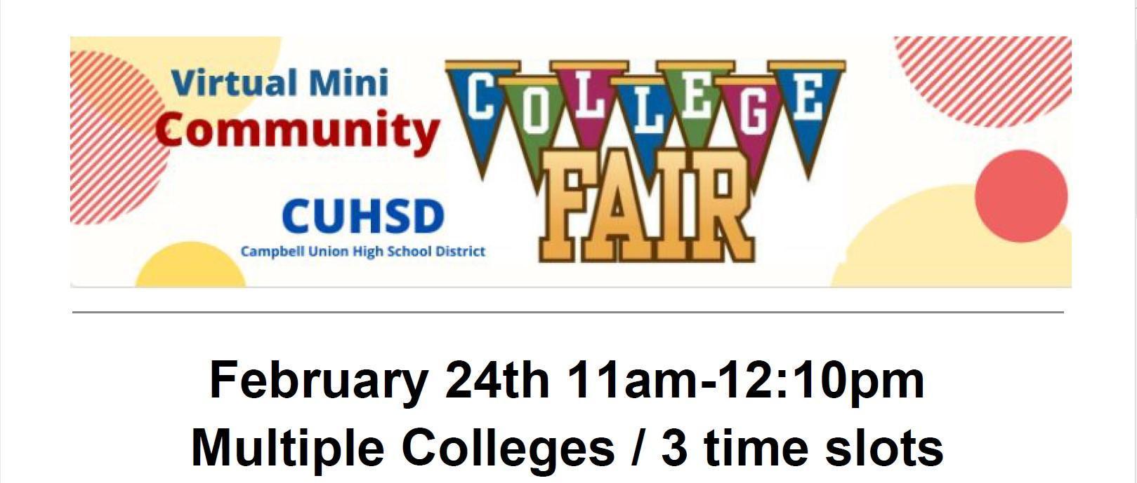 Community College Fair