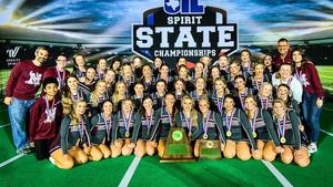 MHS Cheer team