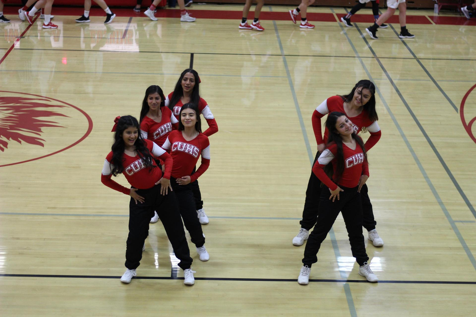 Chowchilla Tribe cheering