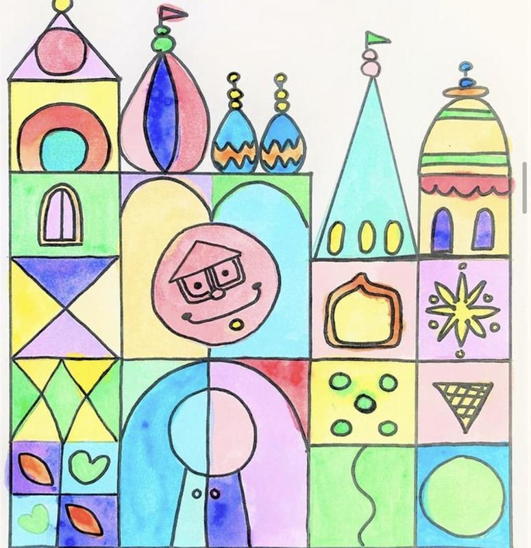 Young At Art Project #2: Small World Castles – Debuts November 1! Thumbnail Image