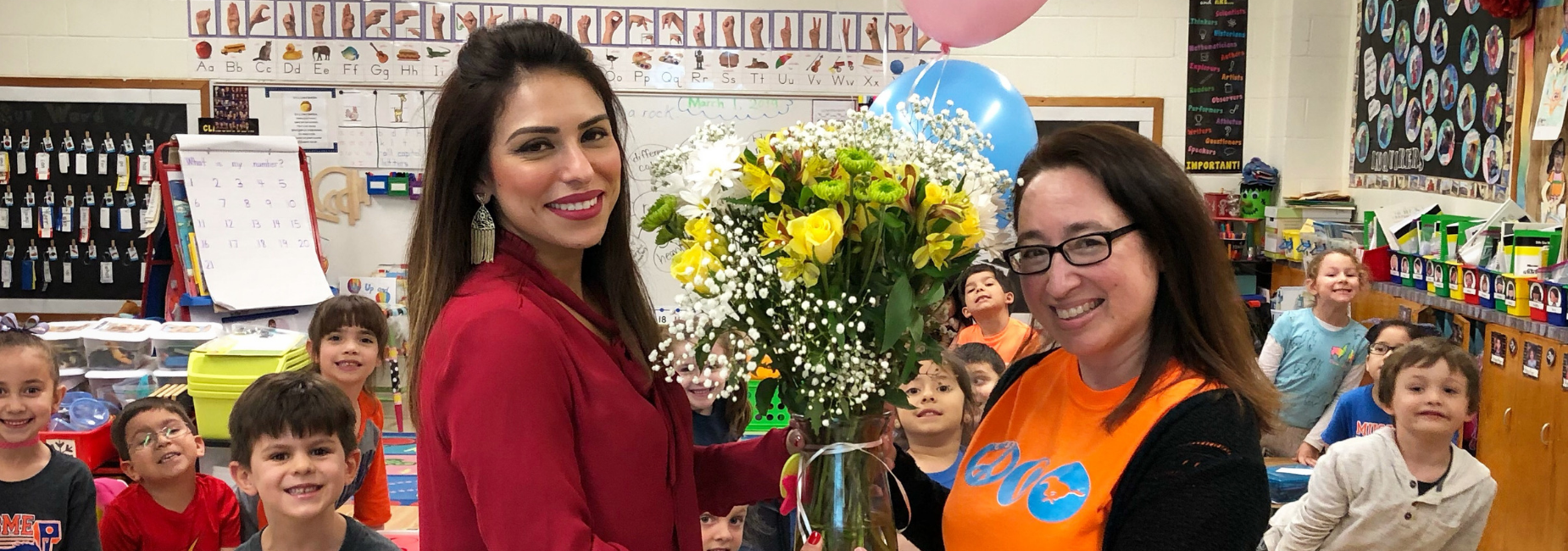 Milam's Teacher of the Year, Ms. Rosales!