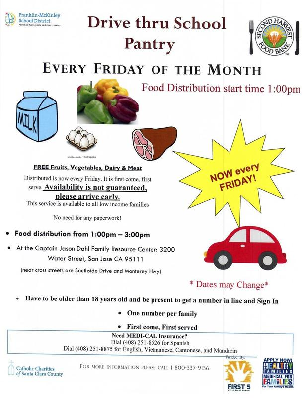 School Pantry Updated Flyer English