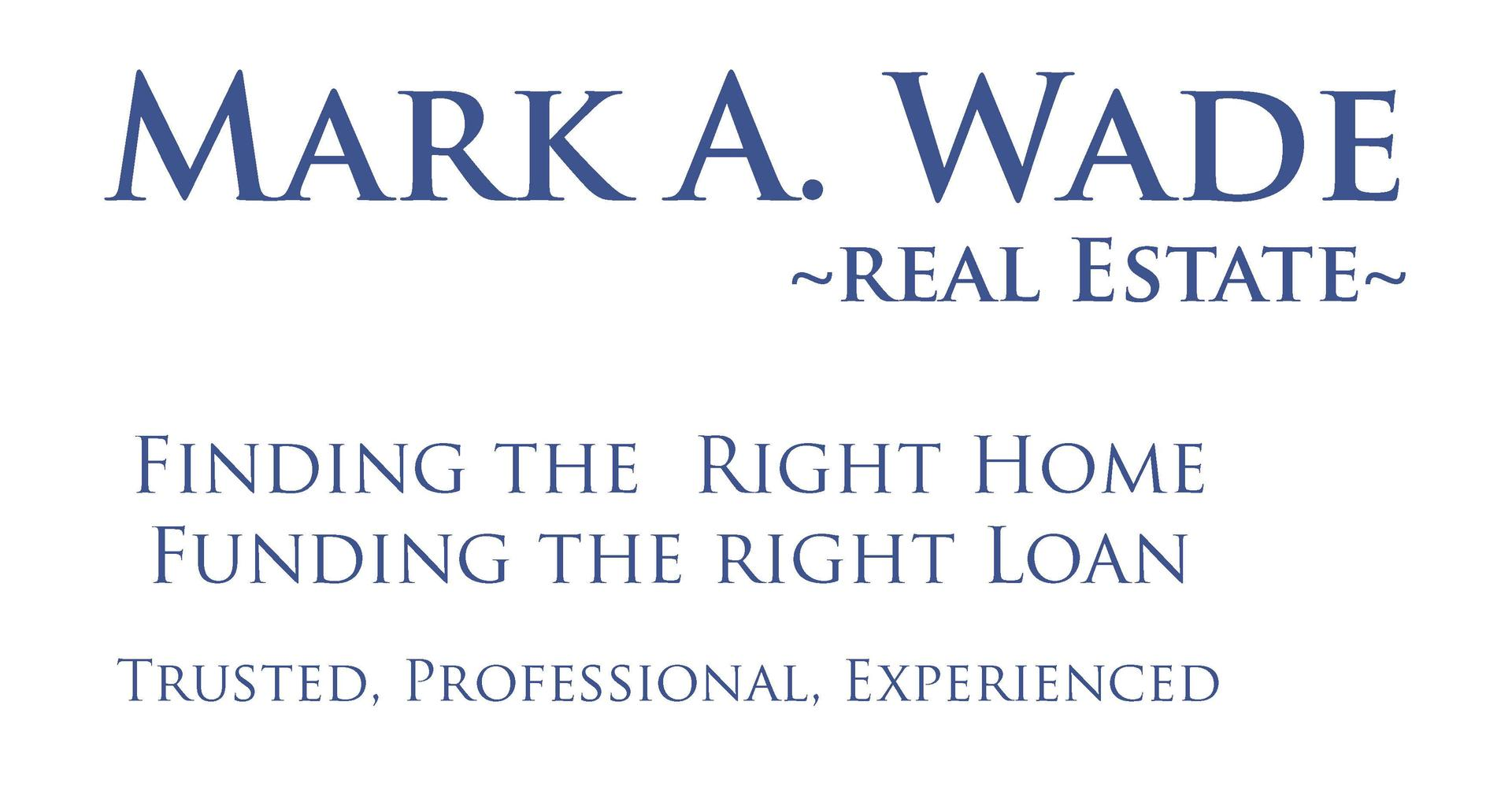 Mark Wade Real Estate Logo