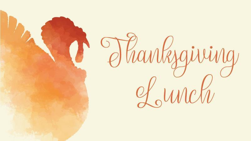 Thanksgiving Lunch Info Featured Photo