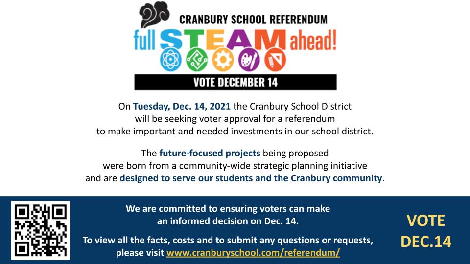 Cover slide of Dec. 14 Referendum Information Presentation