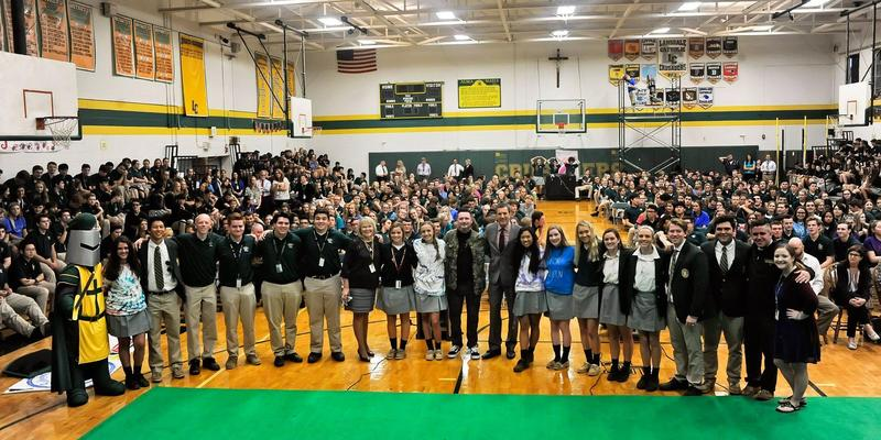 HOCO 2018 Begins With Bob Kelly FOX 29 and Kelly's Classroom Featured Photo