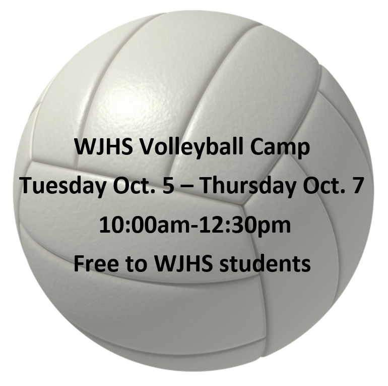 WJHS Volleyball Camp Featured Photo