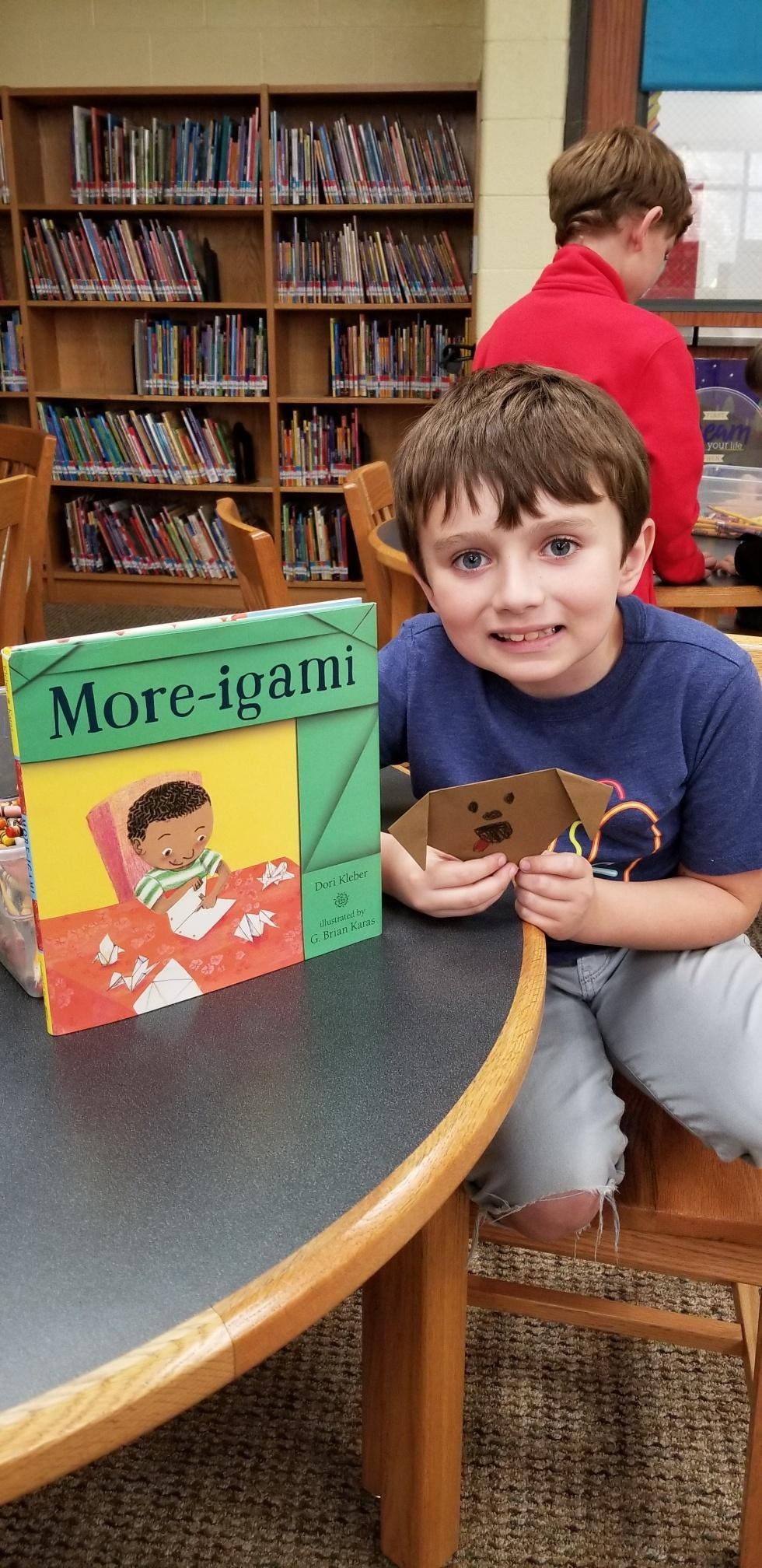 Connecting literacy to origami