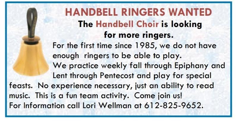 Handbell Ringers Wanted Featured Photo