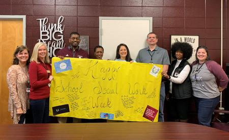 Lakeside High School Social Worker Appreciation