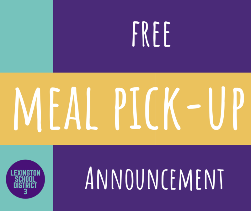 Important Free Meal Pick-Up Information for Wednesday, February 10th