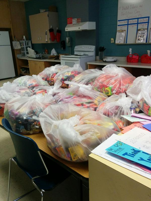 photo of bags of candy