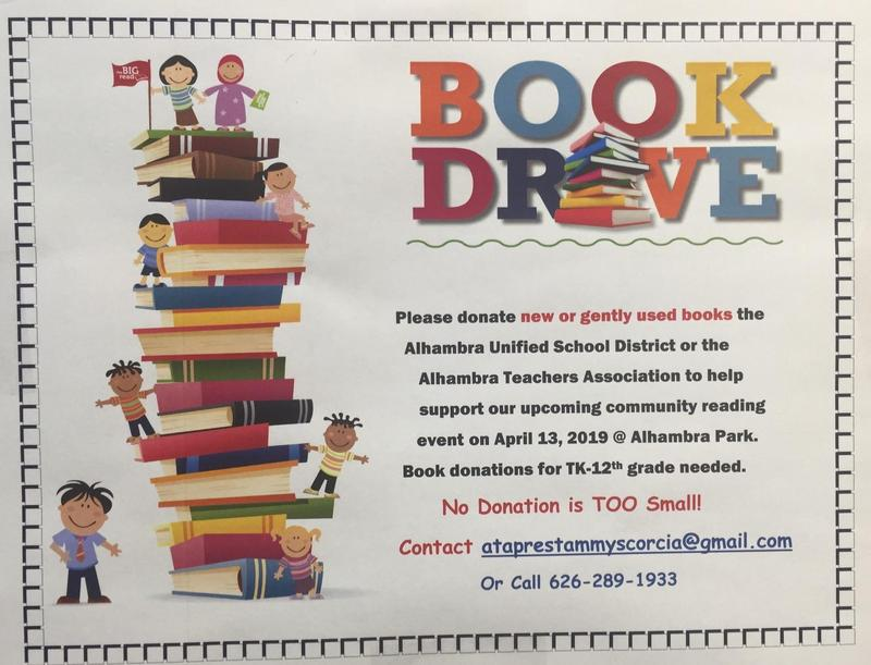 Community Book Drive Featured Photo