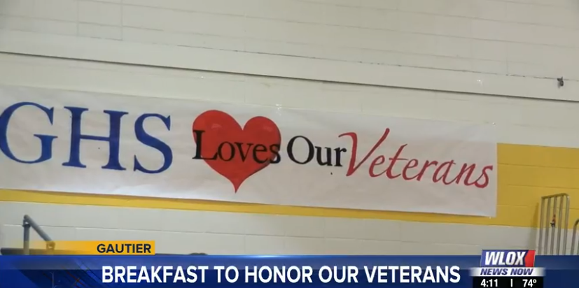 Happening Nov. 8: Gautier High School Veteran's Breakfast