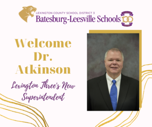 "Dr. Drew ""Ashley"" Atkinson Named New Lexington Three Superintendent"