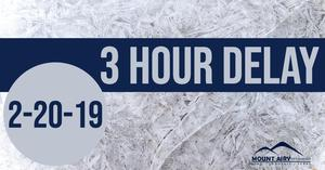 3 hour delay