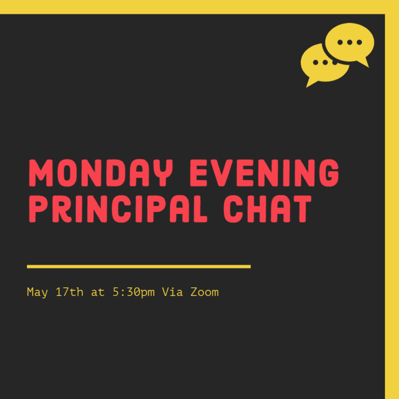 Monday Evening Principal Chat Featured Photo