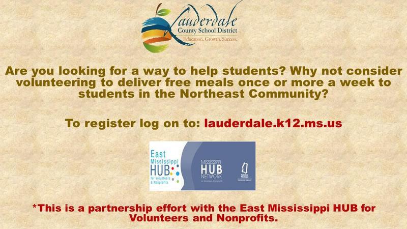 Northeast Grab & Go Meal Delivery Volunteer Flyer