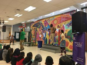 Kaiser Permanente presents show to Santee students