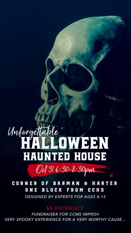 Haunted House Improv Fundraiser! Thumbnail Image