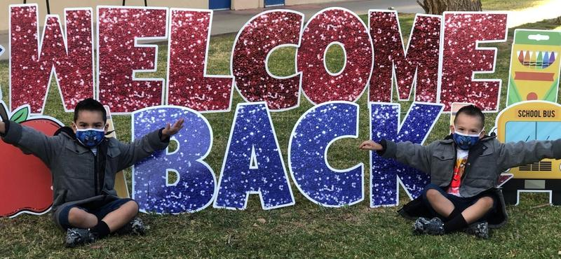 Welcome Back, TK and 1st Grade! Thumbnail Image