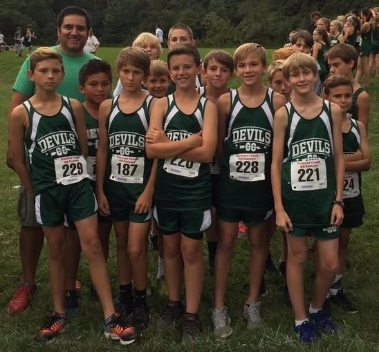 2017-2018 GMS Cross Country
