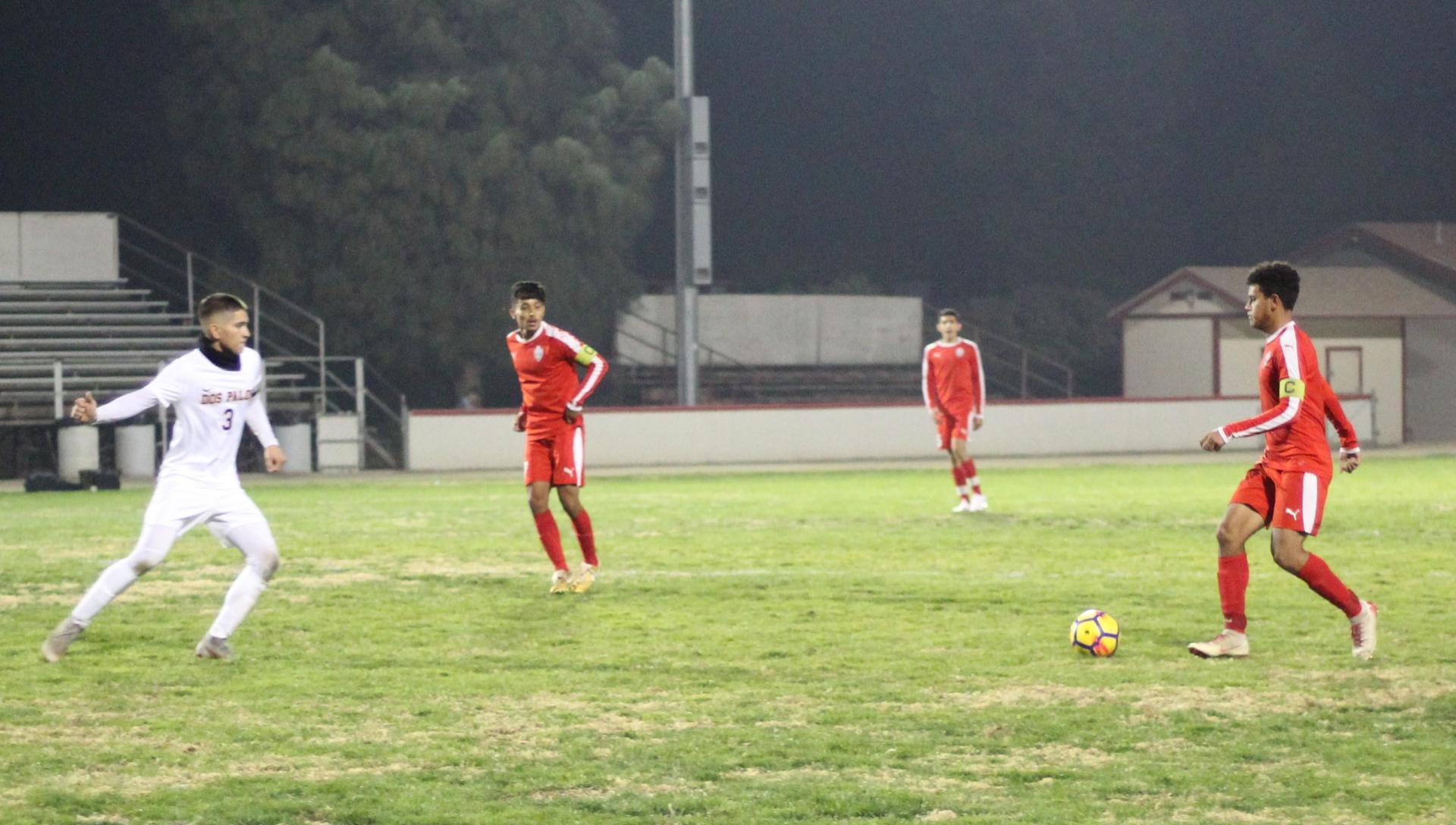 Antonio Ochoa with the Ball