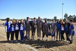 Moffett Football Team and Cheerleaders