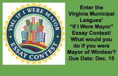 VML If I Were Mayor Essay Contest