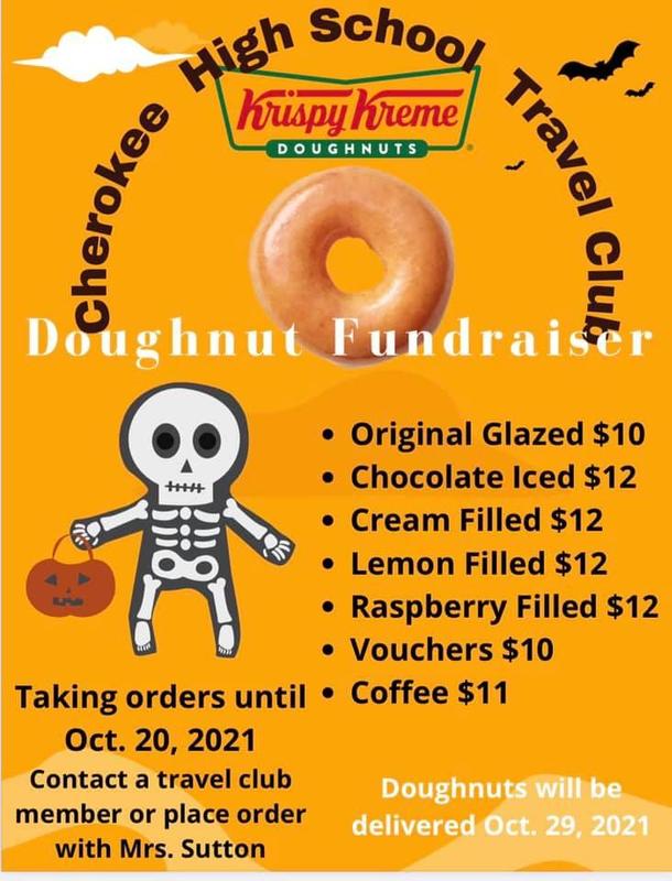 Travel Club Doughnut Fundraiser