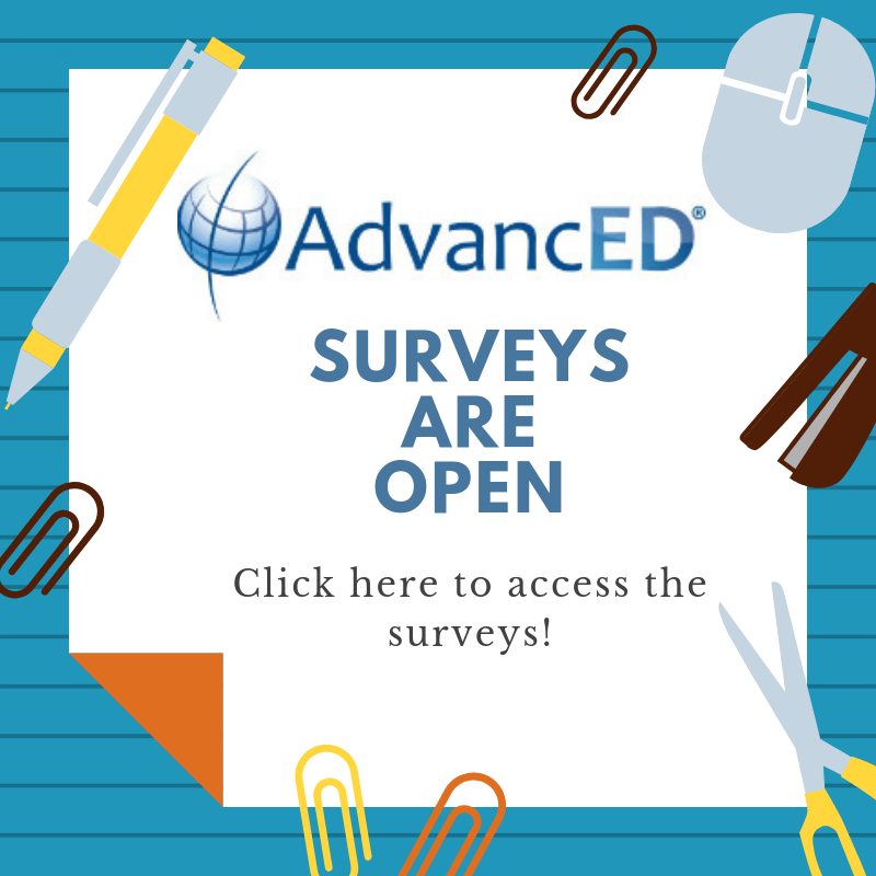 Please take our AdvancED Parent or Student Survey! Featured Photo