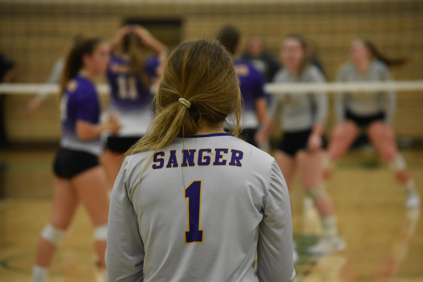 Sanger Volleyball Players