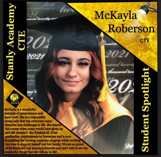SALC CTE Student Spotlight Featured Photo