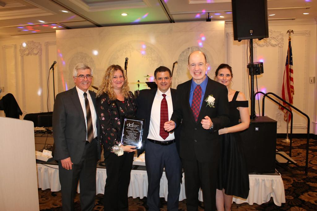 Executive Director, Employer of the Year, Board Chairperson and two guests