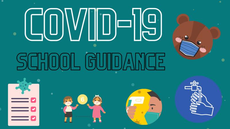 Covid-19 School Guidance Icon