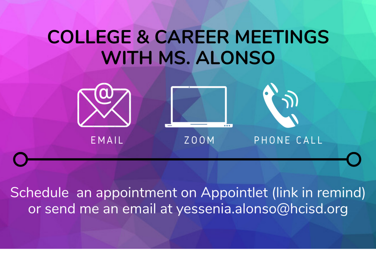 Appointment flyer