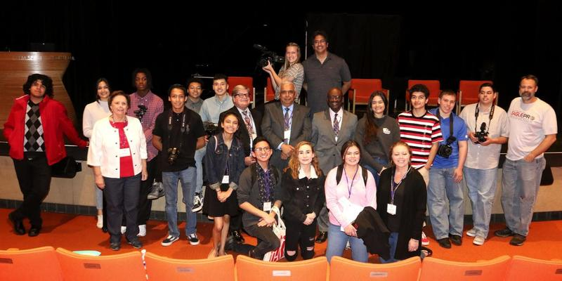 MVUSD Board Members with Eagle Productions