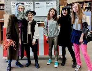 This Middle School Odyssey of the Mind team will advance to the state finals.