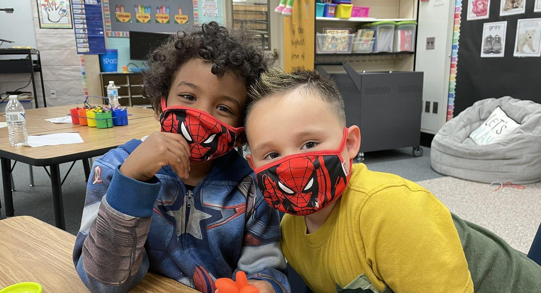 Matching masks!