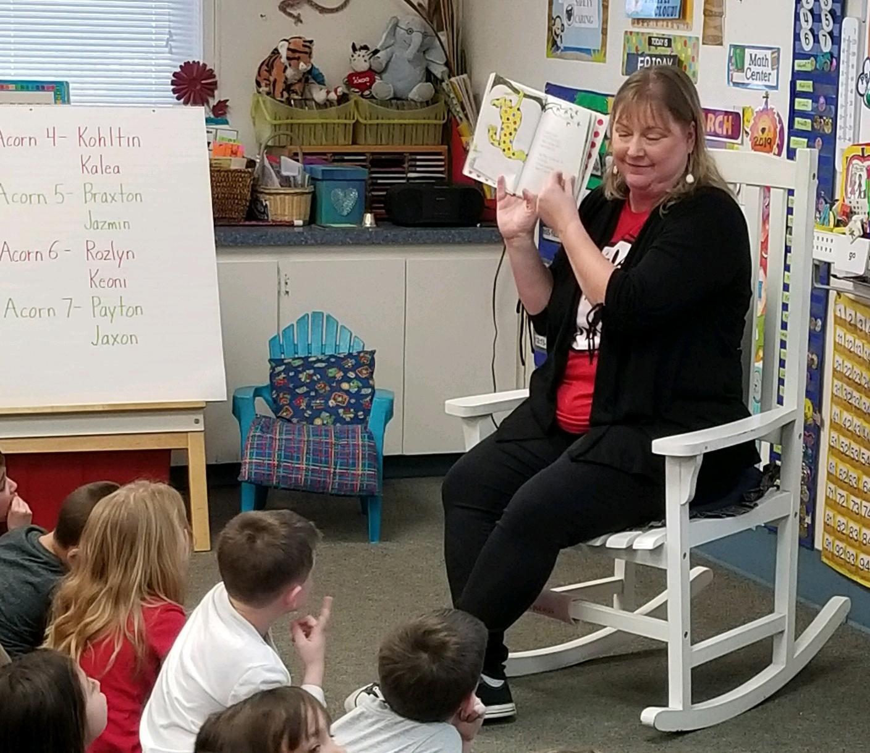 Mrs. Rubin Reading