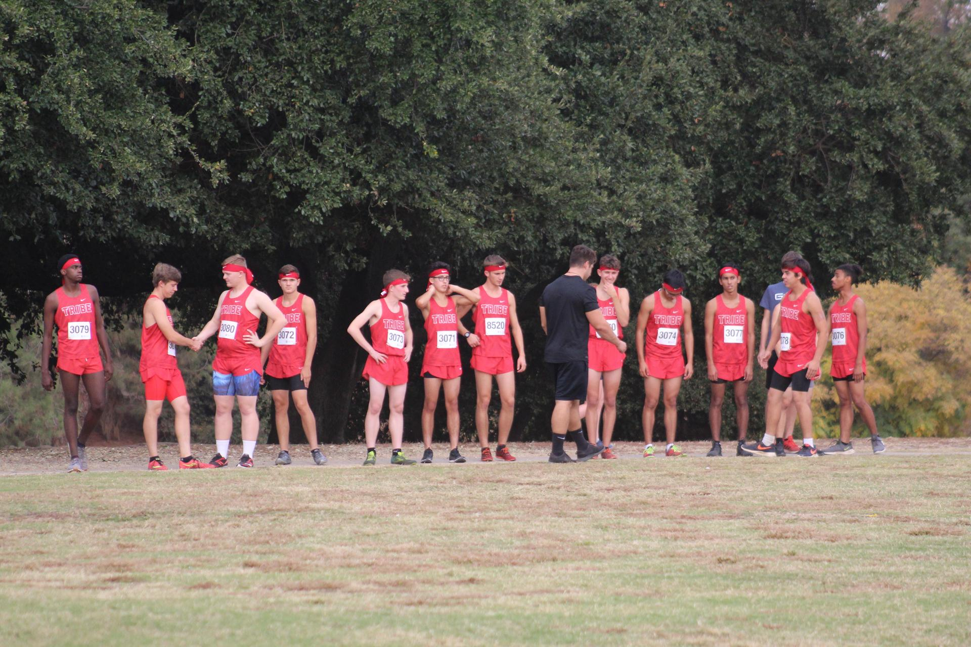 Cross Country at start Line