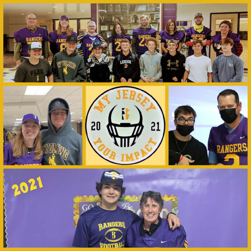 Teachers and students- My Jersey Your Impact