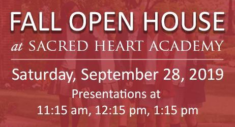 Fall Open House - Saturday, September 28 from 11 a.m.-2 p.m. Featured Photo