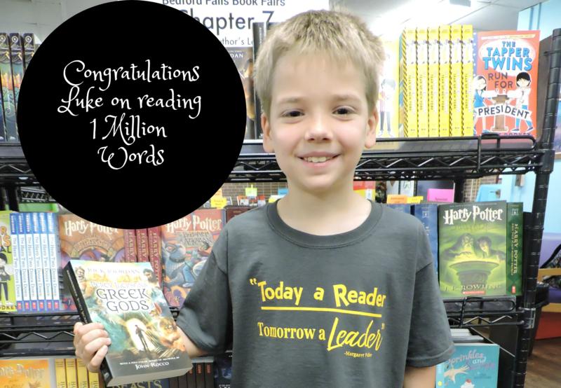 3rd Grader Reads 1 Million Words Thumbnail Image