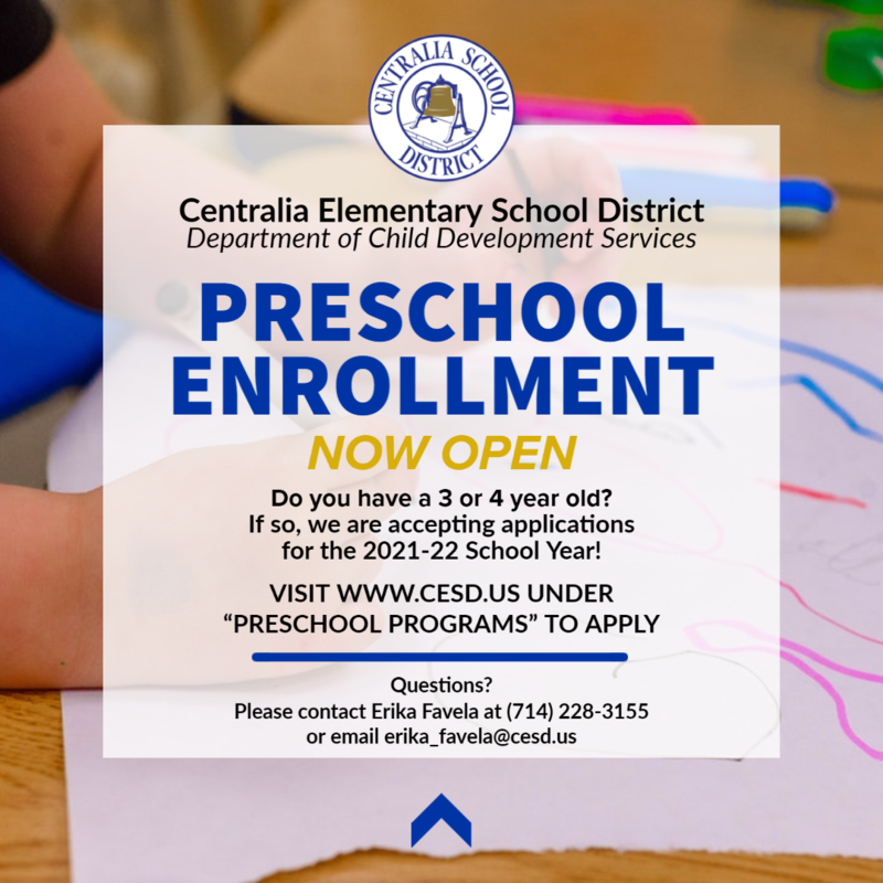 Preschool Open Enrollment