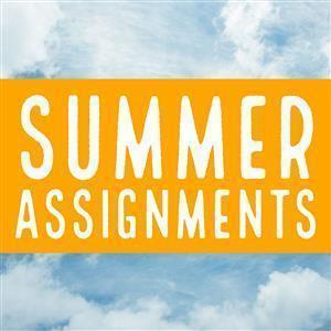 Summer Assignments 2021-2022 Featured Photo