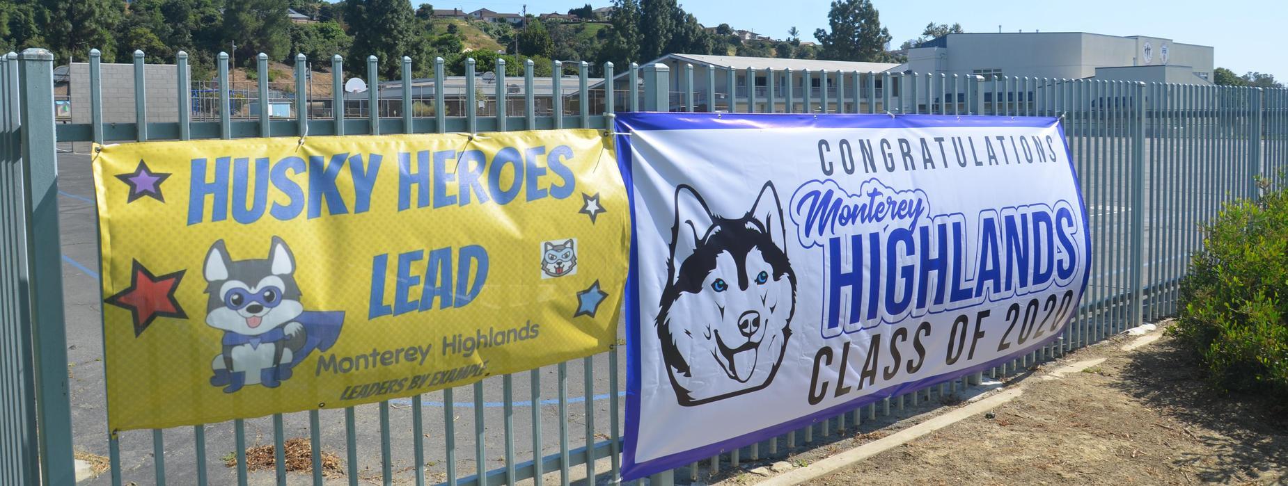 Monterey Highlands Class of 2020 Banner