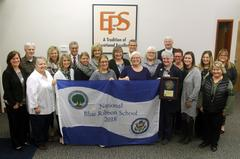 Eagle Lake Staff for Blue Ribbon Award